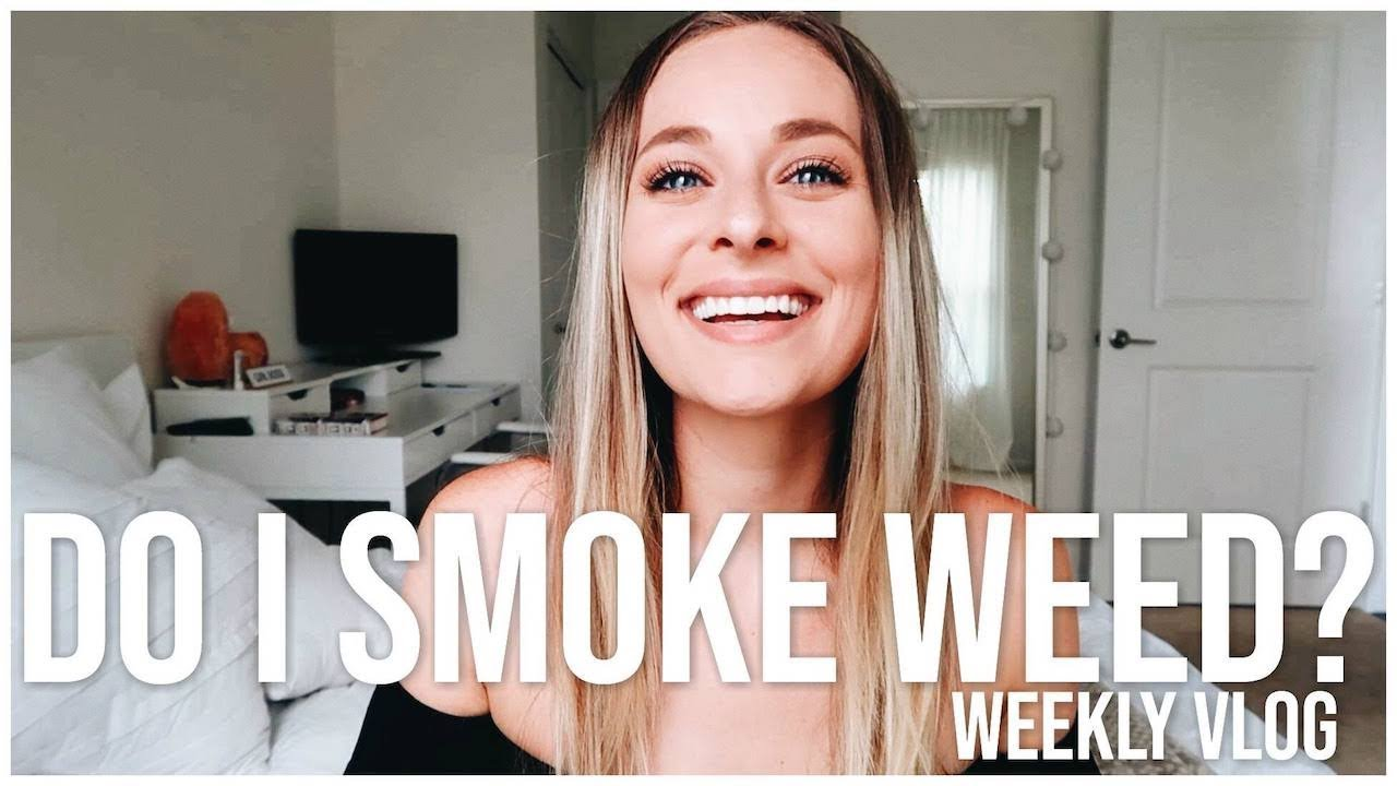 DO I SMOKE WEED? & TRYING CBD OIL FOR THE FIRST TIME | Weekly Vlog