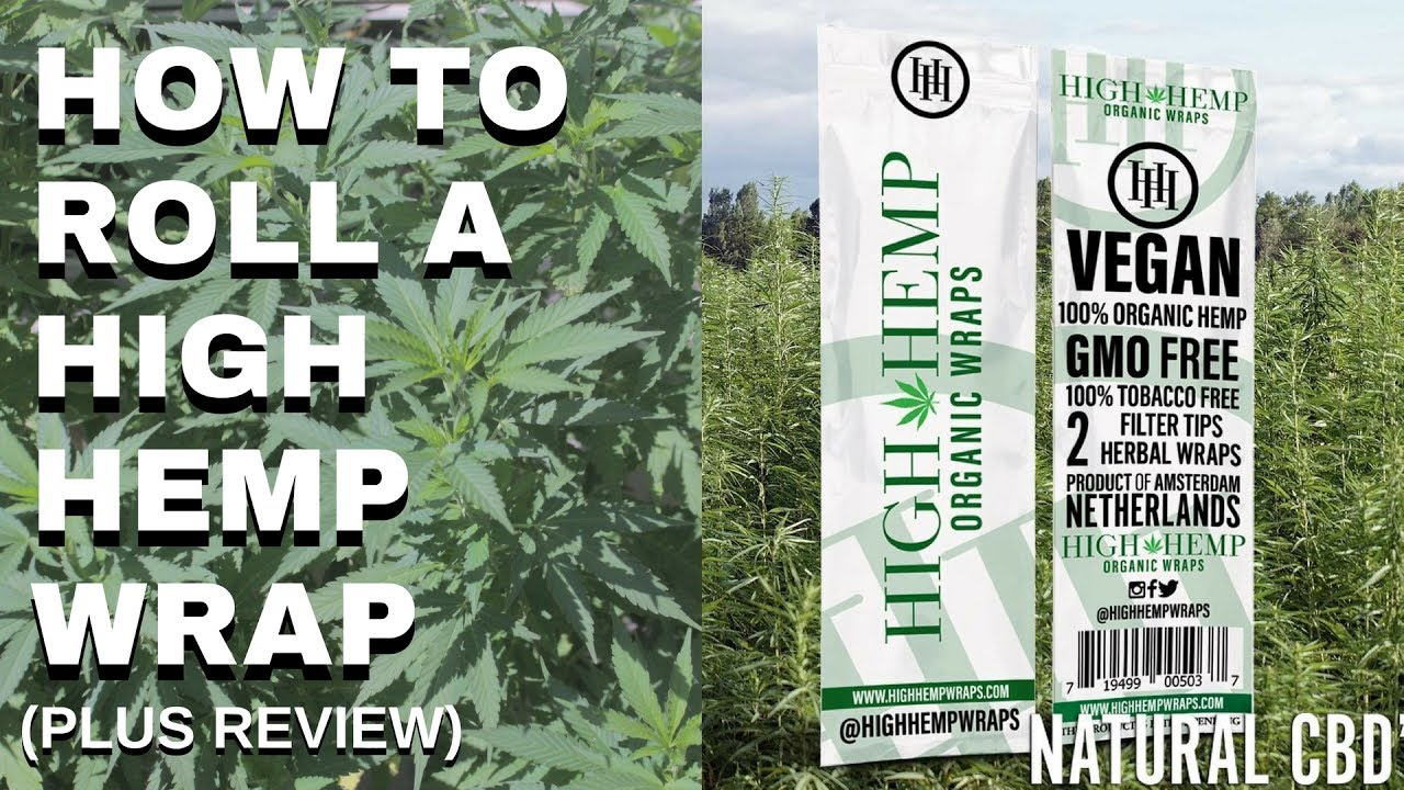 How To Roll High Hemp Wraps Pt. 1 | Cannabis Lifestyle TV