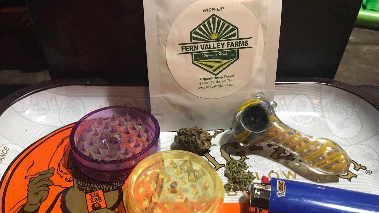 Rise-Up From Fern Valley Farms Hemp Flower Review