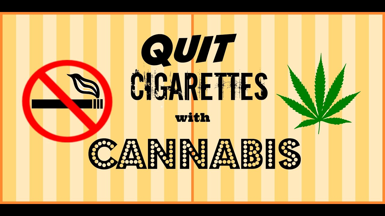 How I QUIT Smoking CIGARETTES with CANNABIS // Smoke Sesh