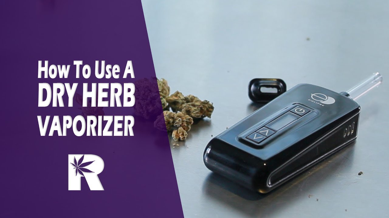 How To Use A Portable Dry Herb Vaporizer (with Eclipse by NYVapeShop.com) Cannabasics #62