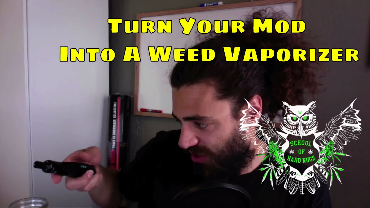 Turn Your Mod Into a Vaporizer for Weed | Dry Herb Vaporizer Sub-Herb Tank  | Dry Herb Atomizer