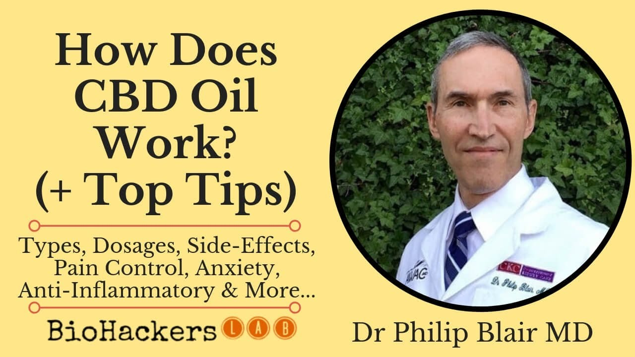 How Does CBD Oil Work? • Dr Philip Blair MD