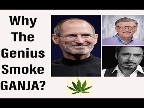 Why The Genius Smoke Ganja? Cannabis | Health Benefits Of Smoking Weed | Cannabis | Marijuana