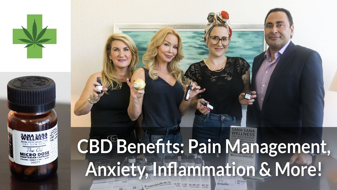 CBD Benefits: Pain Management, Anxiety, Inflammation & More