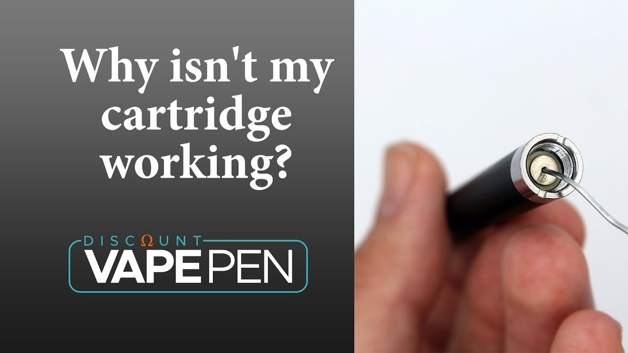 Why Isn't My Cartridge Working – How To Fix Your 510 Cartridge