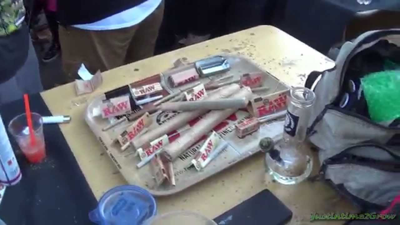 RAW Rolling Papers Booth – 2014 Seattle High Times Cannabis Cup